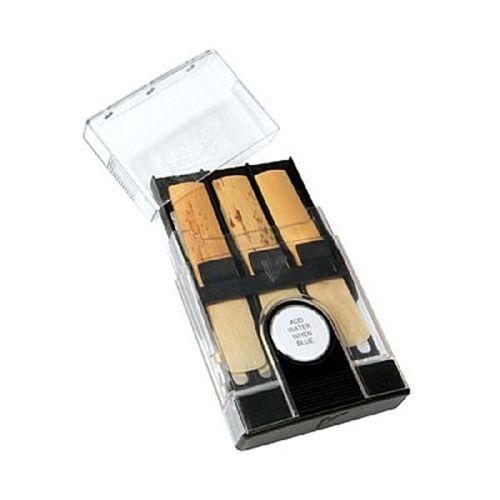 Porta-palheta de Clarone Baixo/Sax Tenor/Sax Barítono, com controlador de umidade, Vandoren