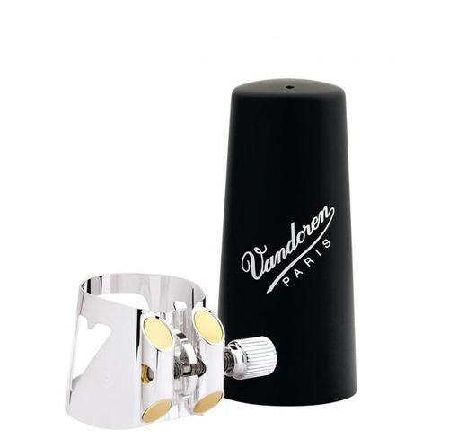 Abraçadeira Vandoren Optimum para Clarinete Alto, com cobreboq. plástico