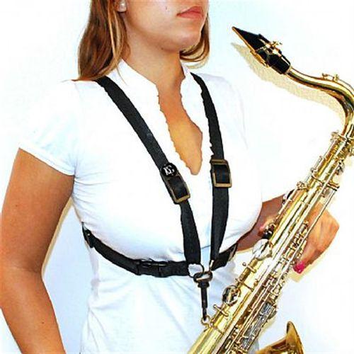 Correia Arnés para Sax Alto/Tenor BG - modelo feminino
