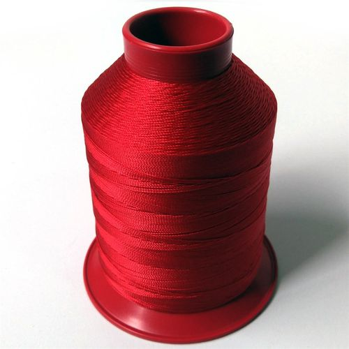 Linha de nylon fina, carretel 660 m - Cor: Vermelho