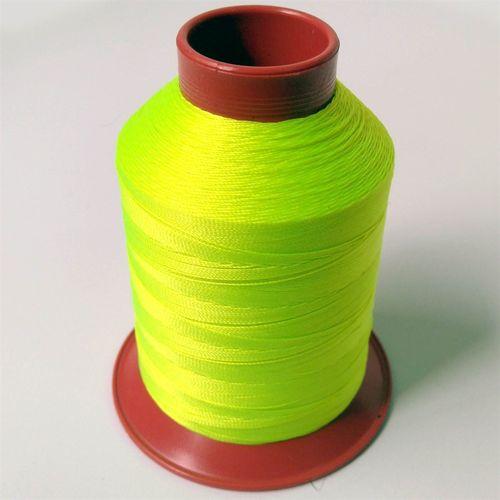 Linha de nylon fina, carretel 660 m - Cor: Amarelo Cítrico