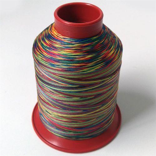 Linha de nylon fina, carretel 660 m - Cor: Multicolorida