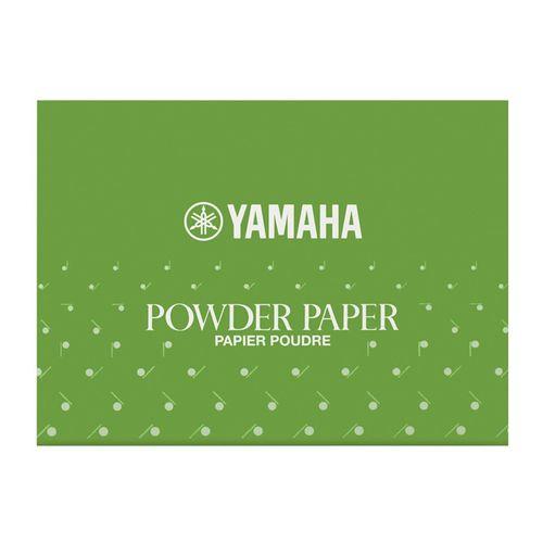 Papel de Limpeza para Sapatilhas, Yamaha. Com talco - 50fls