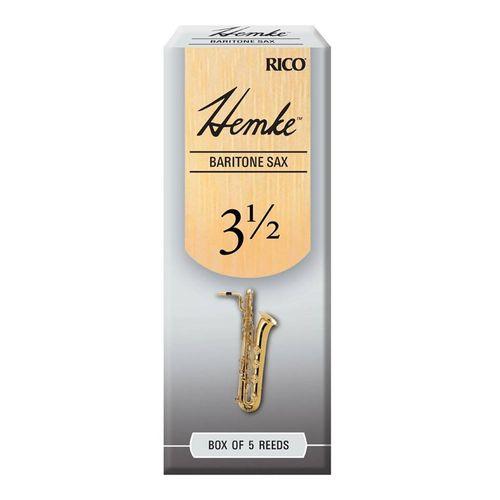 "Palheta 3.5 ""Frederick L. Hemke - Rico"", Sax Barítono, cx c/05 unid."