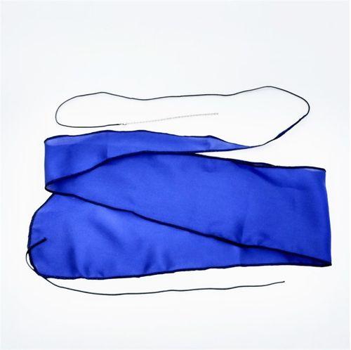 """Pano de Seda para Oboe, """"OboeFagote.com"""", azul"""